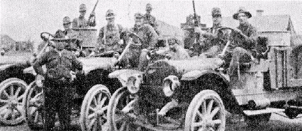 1st Motorized Vehicles in Wartime