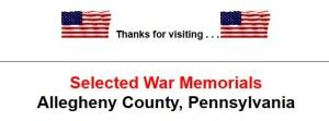 War Memorials Allegheny